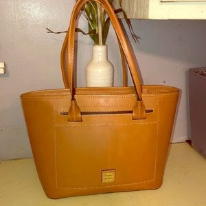 Dooney and Bourke Florentine leather tote